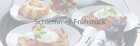 Schlemmer-Frühstück am Tisch